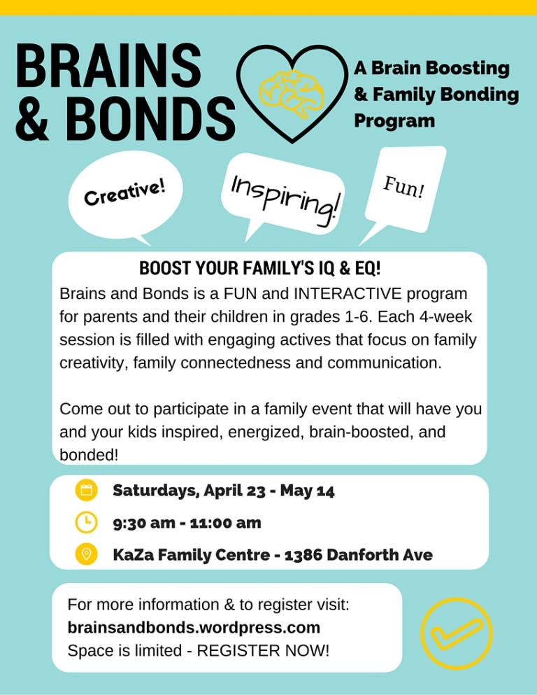 Brains & Bonds Flyer